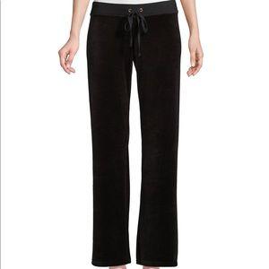 Juicy Couture Black Velour Pants